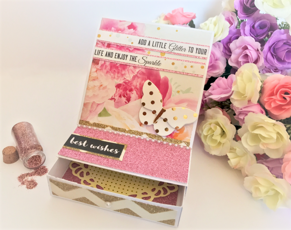 Easel Drawer Card How To - Lady Lair