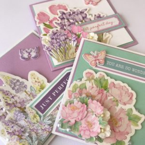 Pretty Pastel Cards - Lady Lair
